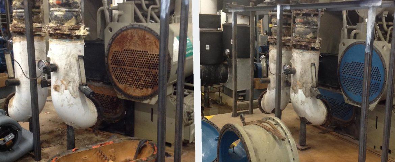 BPCC – Chiller Tube Sheeting Repair