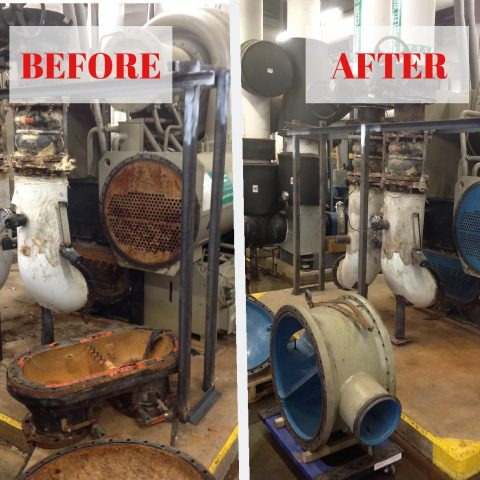 BPCC – Chiller Tube Sheeting Repair